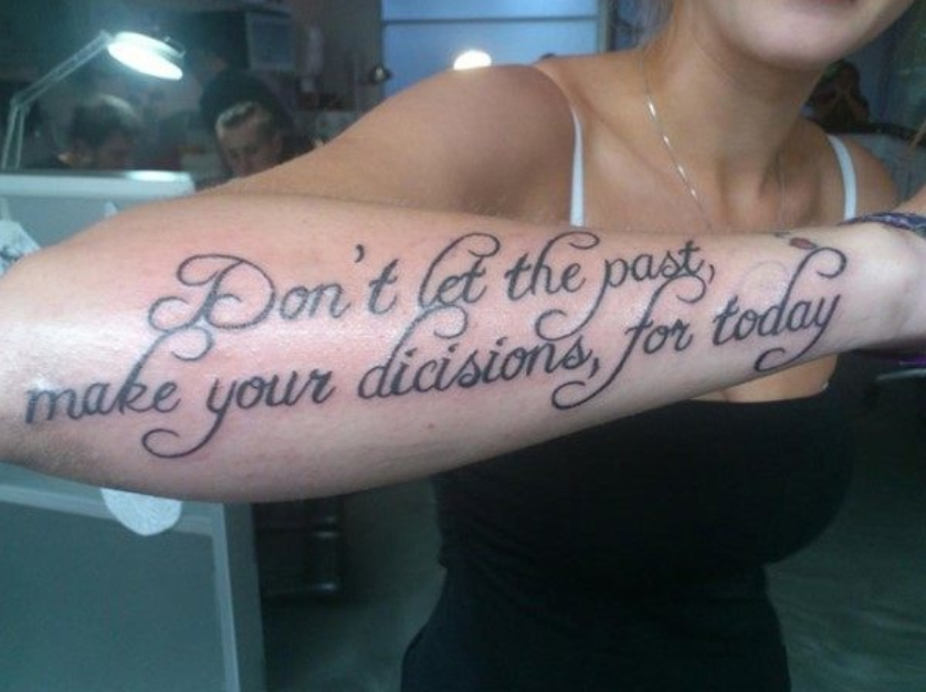 Or Your Tattoo Artist For That Matter