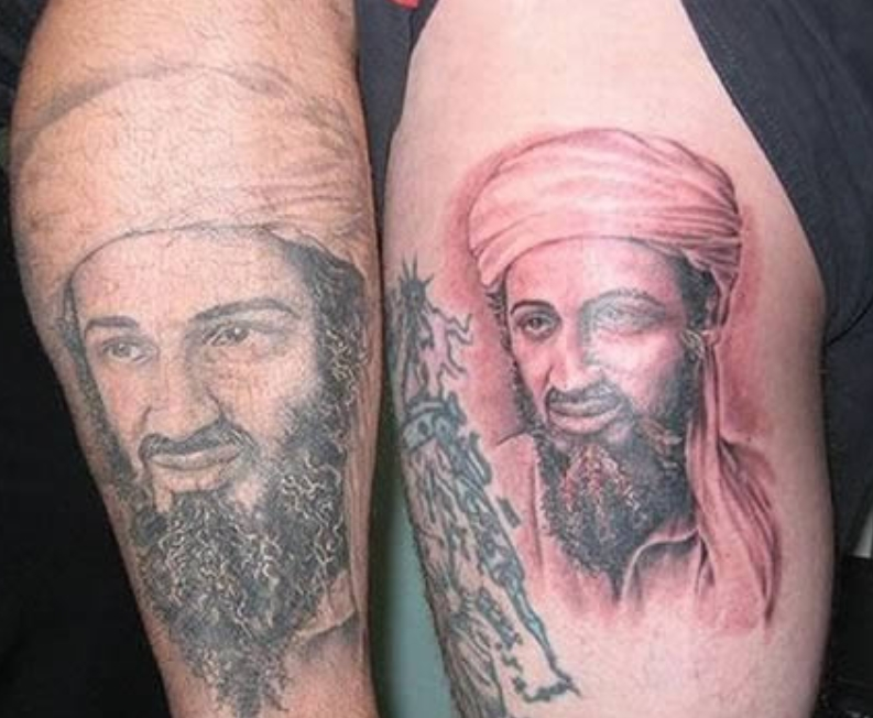 Laden With The Wrong Tattoo