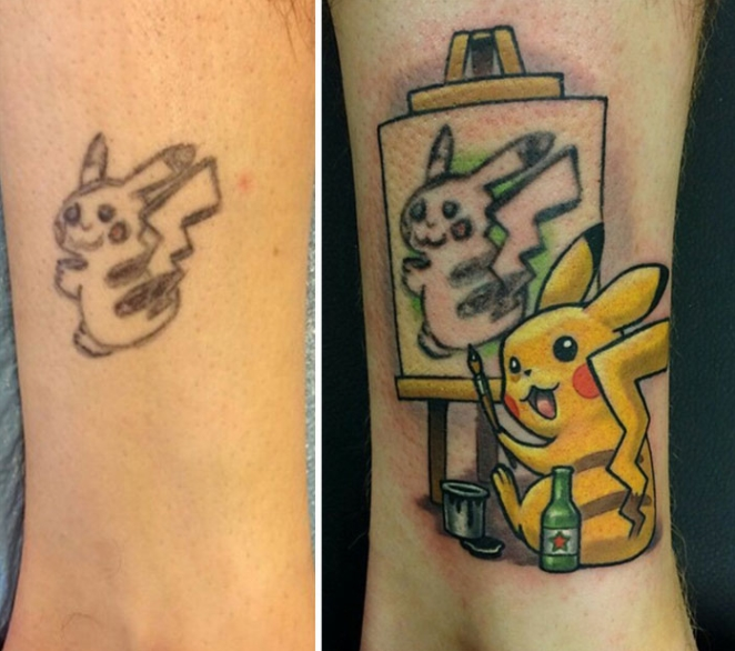 Pikachu Saves The Day
