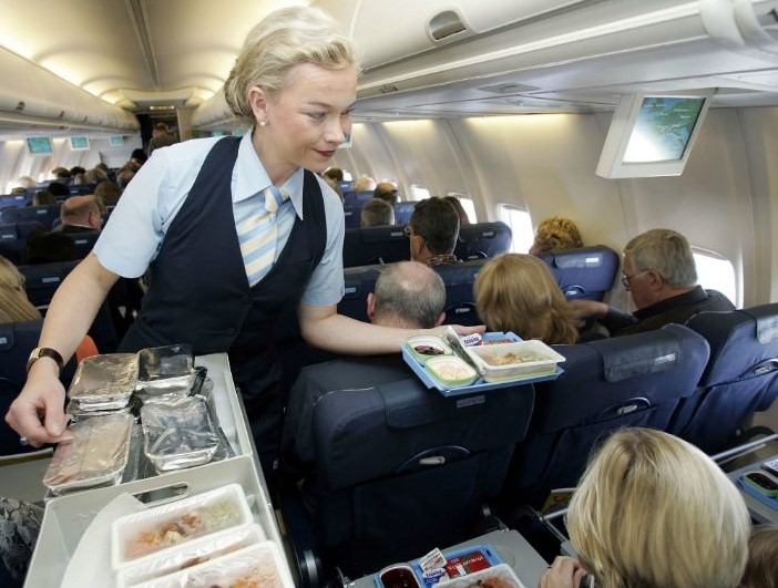How Unhealthy Is Airplane Food@