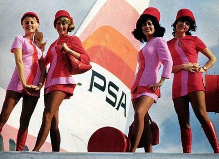 The Flight Attendant Look
