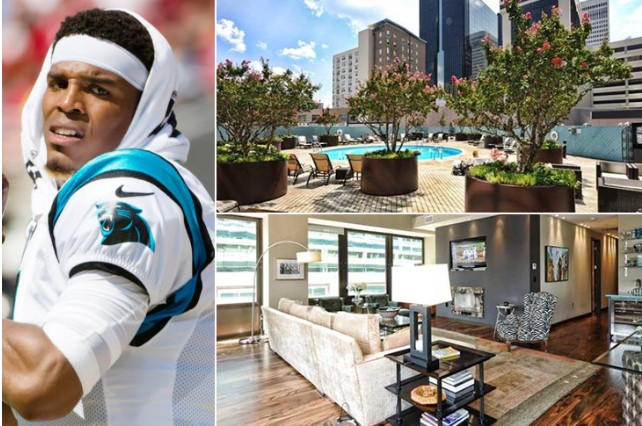 Cam Newton – Charlotte North Carolina