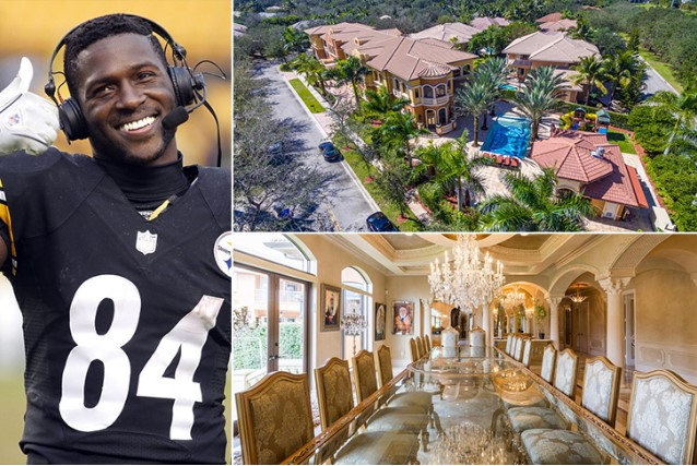 Antonio Brown – Hollywood