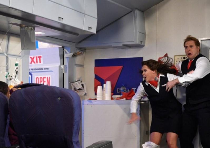 Opening The Door Mid Flight